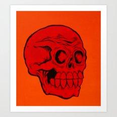 red phantom Art Print