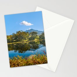 Autumn mirror Stationery Cards