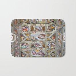 "Michelangelo ""Sistine Chapel ceiling"", Bath Mat"