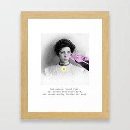 Her Memory Framed Art Print