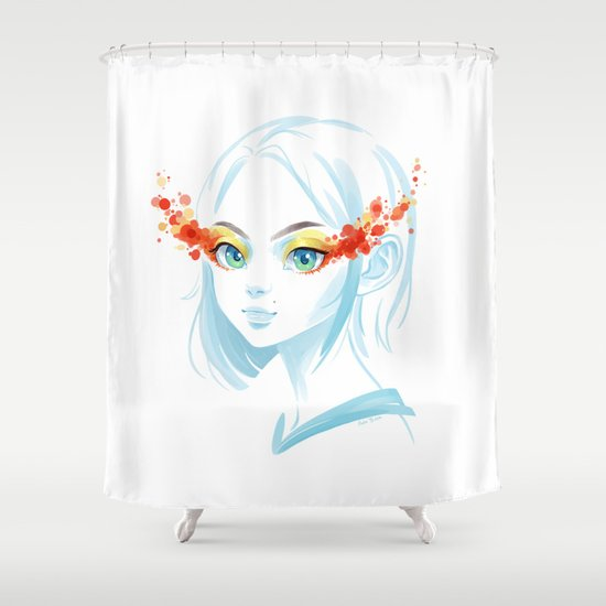 Glance Shower Curtain