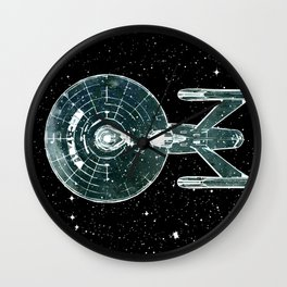 Enterprise NCC-1701A Wall Clock