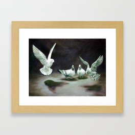 Bird Study Framed Art Print