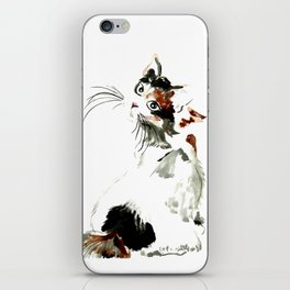 Bobtail cat iPhone Skin