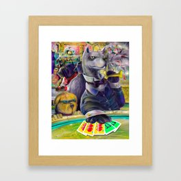 Bonefinger Framed Art Print