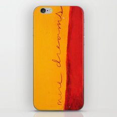 mere dreams iPhone & iPod Skin