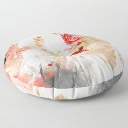 Moon at Noon Floor Pillow