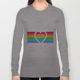 """""""Not that important"""" Long Sleeve T-shirt"""