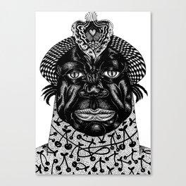 love king Canvas Print