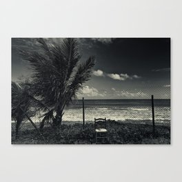 Waiting on the world to change I Canvas Print