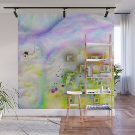 Cotton Candy Cloud Wall Mural