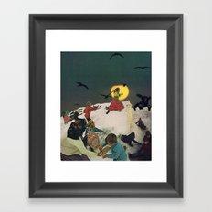 everlasting energy Framed Art Print