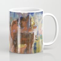 horses Mugs featuring Horses by Michael Creese