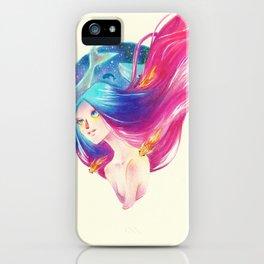 Goldfish Girl iPhone Case