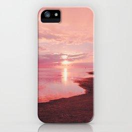 Maldivian sunset 7 iPhone Case