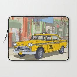 NEW YORK CAB Laptop Sleeve