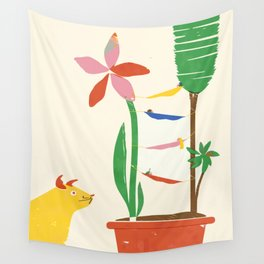 RESTING CAMPERS Wall Tapestry