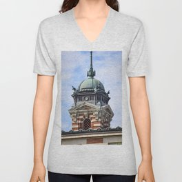 Fancy Turret Unisex V-Neck
