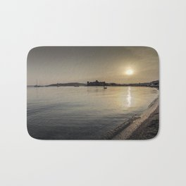 Bodrum Bay Sunset Bath Mat