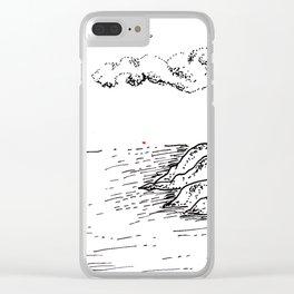 Sketch 21- Sailing Clear iPhone Case