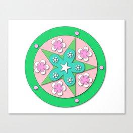 Mandala of Peace Canvas Print