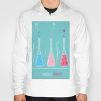 chemistry Hoodies featuring CHEMISTRY OF LOVE by Acus