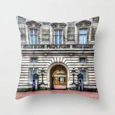 Buckingham Palace London Throw Pillow