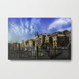Venitian Vacation Metal Print