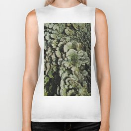 Forest Mushrooms Biker Tank