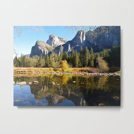 Valley View of Yosemite Metal Print