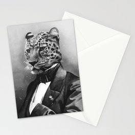 Sir Leopard Stationery Cards