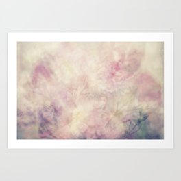 Floral Abyss 1 Art Print