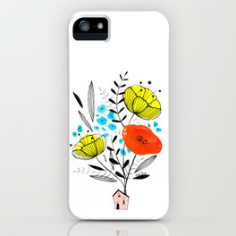 Blooming house iPhone Case