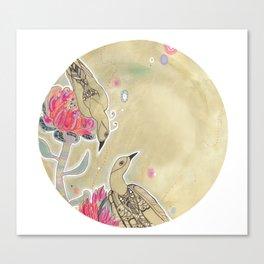The Conversation - Protea Garden range Canvas Print
