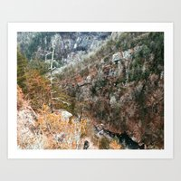 Tallulah Gorge Art Print