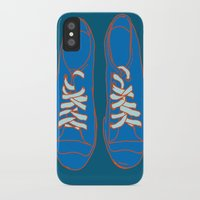 sneakers iPhone & iPod Cases featuring Sneakers by Sam Ayres