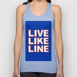 LIVE LIKE LINE Volleyball Unisex Tank Top