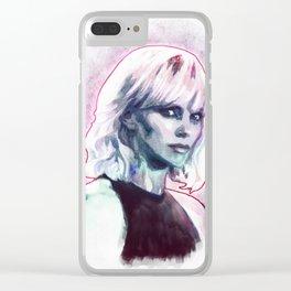 Atomic blonde Clear iPhone Case