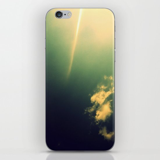 And a Lone Ray Shone Down iPhone & iPod Skin