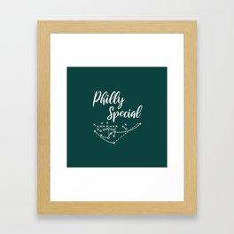Philly Special Framed Art Print