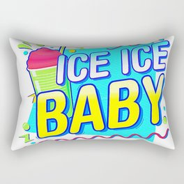 Ice Ice Rectangular Pillow