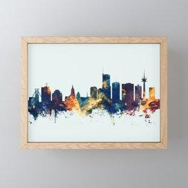 Essen Germany Skyline Framed Mini Art Print