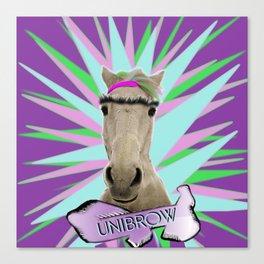 Unibrow Canvas Print