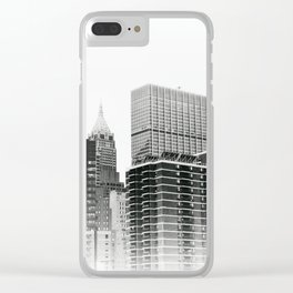 New York New York .. Clear iPhone Case