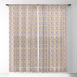 Folk - garden XL Sheer Curtain