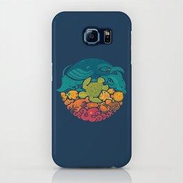 Aquatic Rainbow iPhone Case