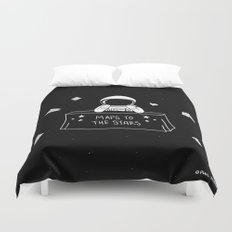 Selling Maps to the Stars Duvet Cover