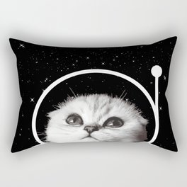 Thistle in Space Rectangular Pillow