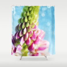 Lupin & Sparkles Shower Curtain