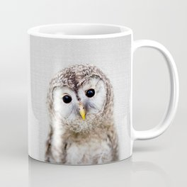 Baby Owl - Colorful Coffee Mug